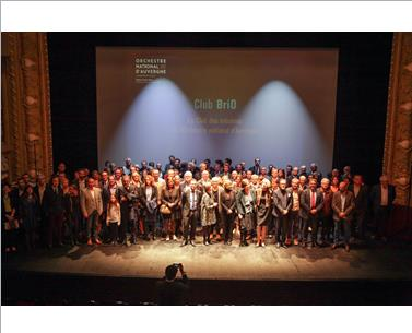 Invitation Presse – Soirée de lancement  du club de mécènes de l'Orchestre National d'Auvergne